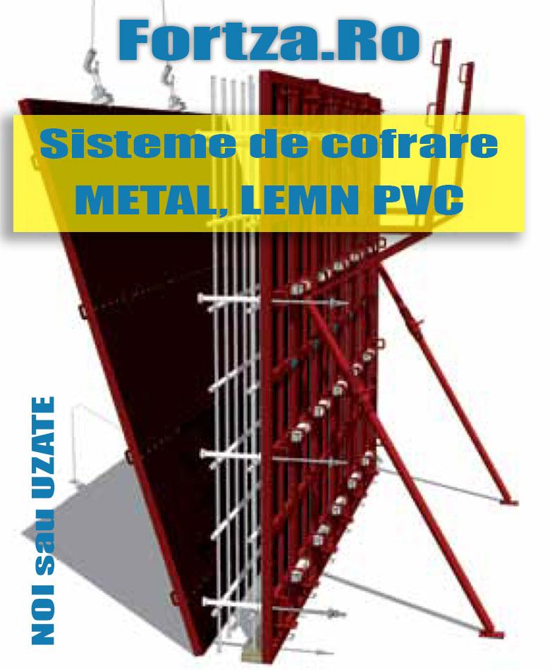 Fortza.Ro - Cofraje metalice, din lemn sau PVC