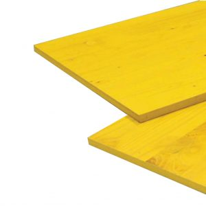 Panouri galben din lemn pentru cofraj