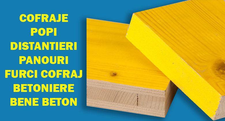 Produse fortza.ro - cofraje, popi, furci, distantieri, cofraje metalice, cofraje lemn